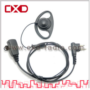 D-Shaped Earpeice for Mototrbo XPR6300, XIRP8200, GP328