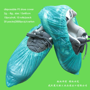 Disposable Polyethylene Overshoes pictures & photos