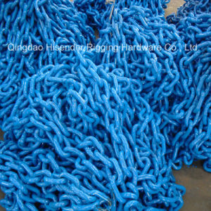Fishing Chain, Blue Painted, Bind Lashing Chain, Calibrated Hoist Chain pictures & photos
