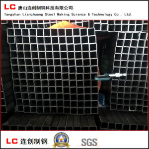 Black Steel Square Pipe with High Quality pictures & photos
