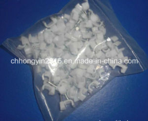 12 Mm Steel Nail C Type Round Cable Clips pictures & photos