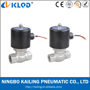 Stainless Steel 24V DC Solenoid Valve for Steam Hot Water pictures & photos