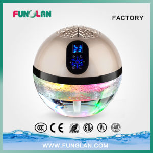 Globe Air Purifier with Ionizer and Changing LED Lights pictures & photos