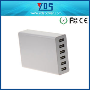 Ce Approved Mobile Phone Charger with 6 USB Ports pictures & photos