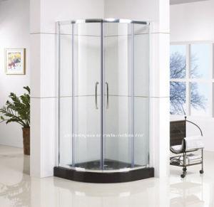Quadrant Shape Sliding Shower Enclosure with Frame Designs (QA-R900)