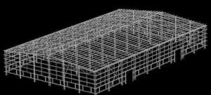 Prefabricated Light Steel Structure Workshop/Warehouse /Steel Factory pictures & photos