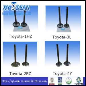 Intake & Exhaust Engine Parts for 3L 4y 1sz 1rz 1zz Toyota Engine Valve (Intake & Exhaust) pictures & photos