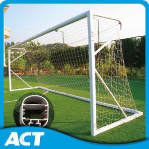 Best Quality Aluminum Steel Football Goals Freestanding Soccer Goals pictures & photos