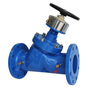 Cast Iron or Ductile Iron Double Flange Balance Valve pictures & photos
