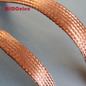 Copper Flexible Flat Braided Electric Connector pictures & photos