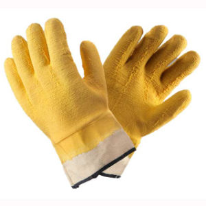 (LG-022) 13t Latex Coated Labor Protective Safety Work Gloves pictures & photos