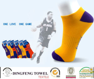 Anti-Bacterial Itch Ankle Cotton Sport Sock Df-8619 pictures & photos