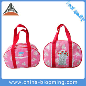Lovely Weekend Leisure School Shoulder Beach Shopping Polyester Bag pictures & photos