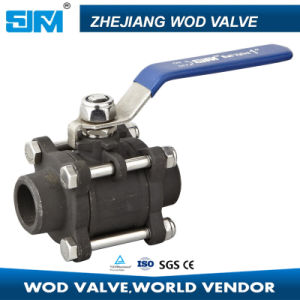 3PC Butt Weld Carbon Steel Ball Valve pictures & photos