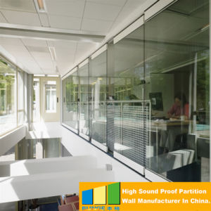 Aluminum Operable Glass Walls Partition for Upscale Reataurant