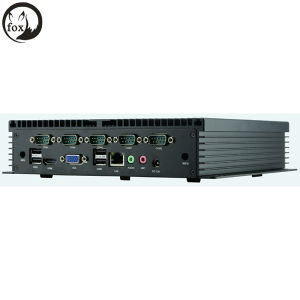 Full Enclosed Intel 1037u/I3/I5/I7 Fanless Mini Industrial PC pictures & photos