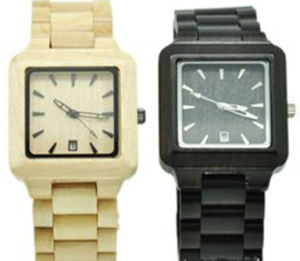 2015new Style Hot Sale Cheap Men′s Wrist Watches Fashion Couple′s Wooden Wrist Watch pictures & photos
