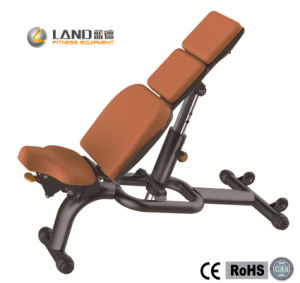 Adjustable Bench (LD-7020) Commercial Adjustyable Bench/Bodybuilding Equipment/Fitness Machine