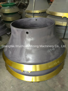 Crusher Parts Cone Liners for Sandvik H6800 pictures & photos