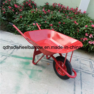 Good Quality Stainless Steel Tray Wheel Barrow (Wb6201)