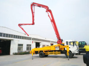 Diesel Engine Truck Mounted Concrete Pump for Sale pictures & photos