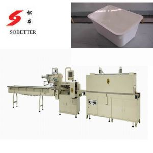 Auto Shrink Packaging Machine for Bento pictures & photos