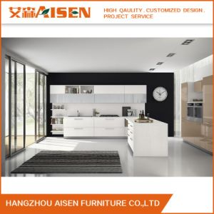 New Model Factory Direct Modern Lacquer Kitchen Cabinet Kitchen Furniture pictures & photos