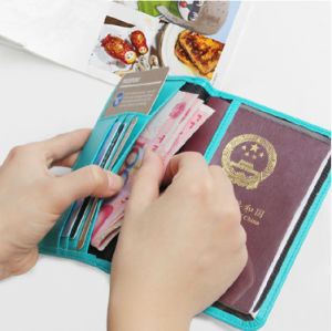 RFID Safety Passport Cover for Card and Monkey pictures & photos