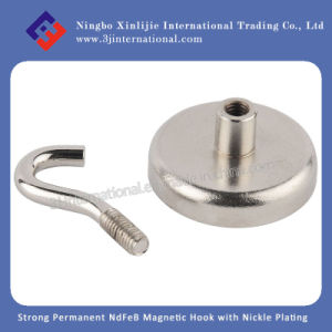 Silver / Permanent / Strong / NdFeB / Neo / Neodymium / Ferrite / White / Magnetic Hook