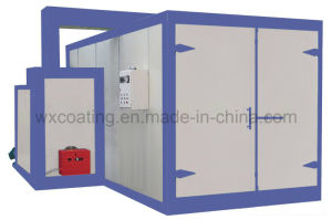 Disel Burning Powder Coating Heating Oven pictures & photos