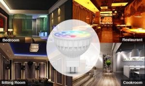 2.4G MR16 LED RGB+Cw-Ww Light Bulb pictures & photos