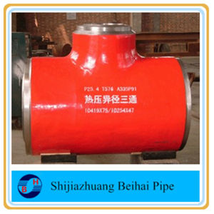 A234 Wp11 Alloy Steel Sch40 Seamless Pipe Fitting Straight Tee ANSI B16.9 pictures & photos