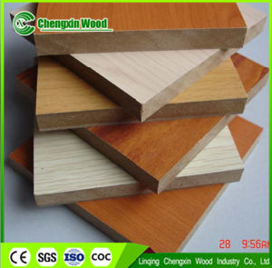 Wood Grain Melamine Faced MDF pictures & photos