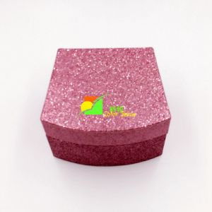 Pink UV Varnish Paper Gift Storage Box