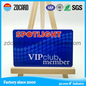 Plastic Dual Frequency Rewritable RFID Club VIP Card pictures & photos