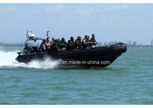 Aqualand 35feet Military Rib Motor Boat/Rigid Inflatable Patrol Boat (RIB1050) pictures & photos