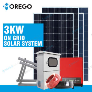 Morege 3kw PV Solar Energy System for Home Use pictures & photos