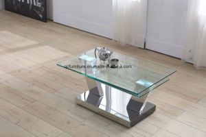 Glass Coffee Table Set Center Table Design Living Room Furniture pictures & photos