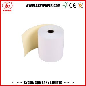 Competitive Price 63G Carbonless Paper Roll 3-Ply pictures & photos