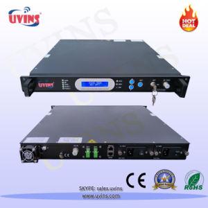 1550nm Optical Transmitter External-Modulated Jdsu 2X7dBm/2*11dBm 870MHz/ 1GHz pictures & photos