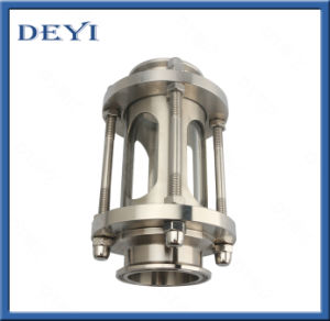 Sanitary Stainless Steel Straight Triclamp Ends Sight Glass pictures & photos