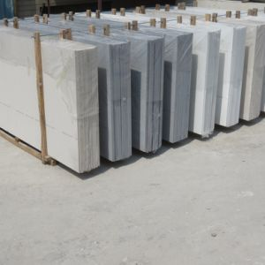China Supplier Cream White Quartz Stone for Flooring Tiles pictures & photos