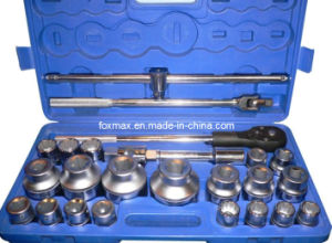 "3/4"" & 1"" Dr. Socket Set 25PCS pictures & photos"