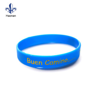 Custom Promotional Debossed Silicone Wristband for Event pictures & photos