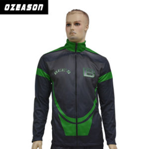 Customized Sublimtion Printing Polyester Men Winter Tracksuit Top Tracksuit Jacket (TJ009) pictures & photos
