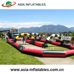 Outdoor Inflatable Kart Car Track for Children pictures & photos
