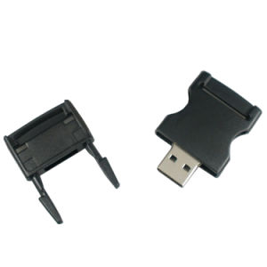 Black Buckle 32GB USB Flash Drive Memory Stick OEM Logo pictures & photos
