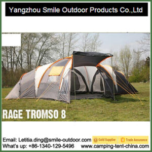 Best 1 Hall 3 Room Camping Large Family Tent pictures & photos