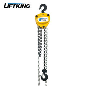 Liftking Brand Hsz-K Kito Type 0.5t to 20t Manual Chain Lifting Hoist pictures & photos