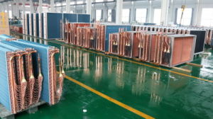 Air Cooled Copper Tube Fin Type Refrigereation Unit Heat Exchanger pictures & photos